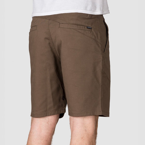 Volcom Frickin Modern Stretch 19 Shorts Mushroom - Clothing