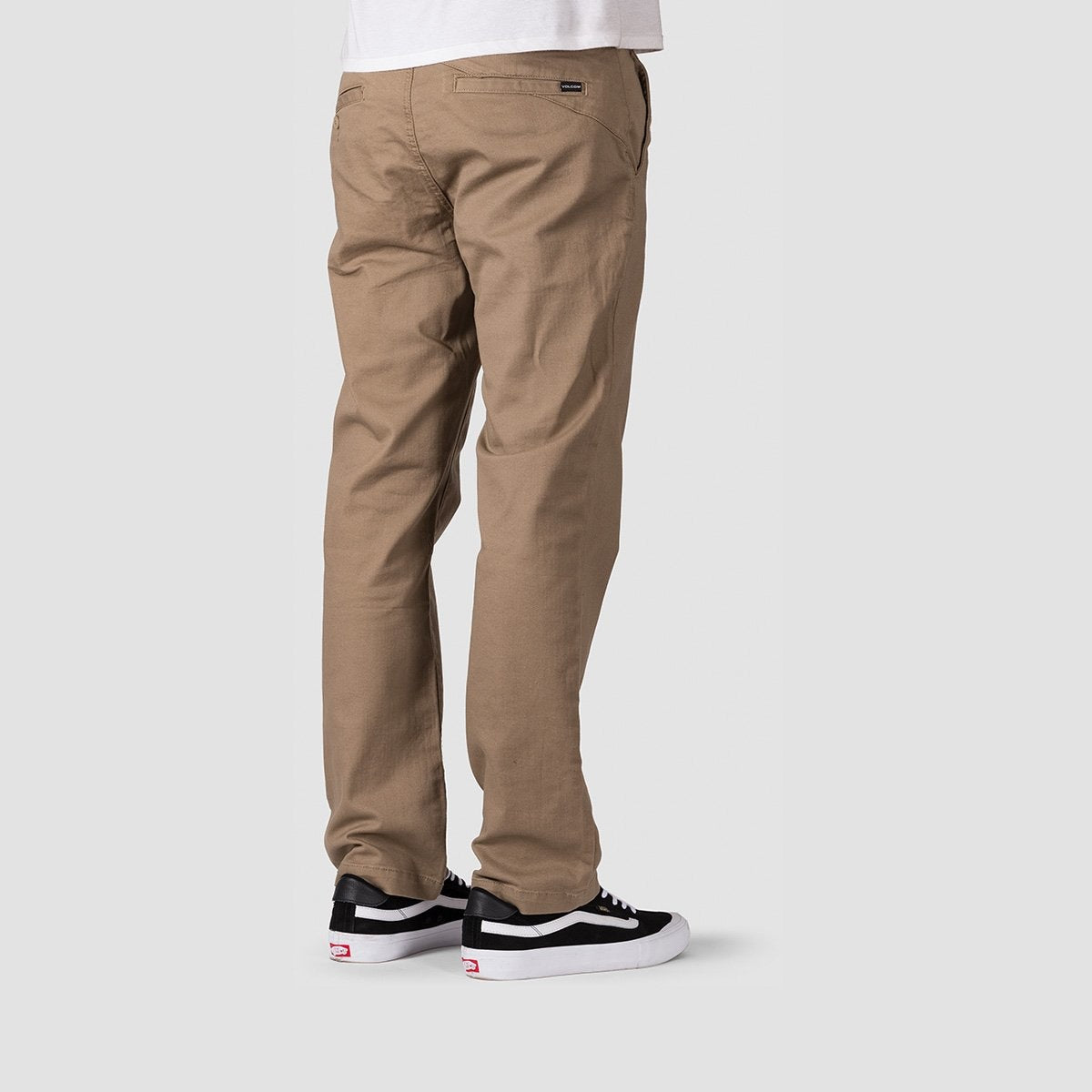 Volcom Frickin Regular Chino Pants Khaki - Clothing