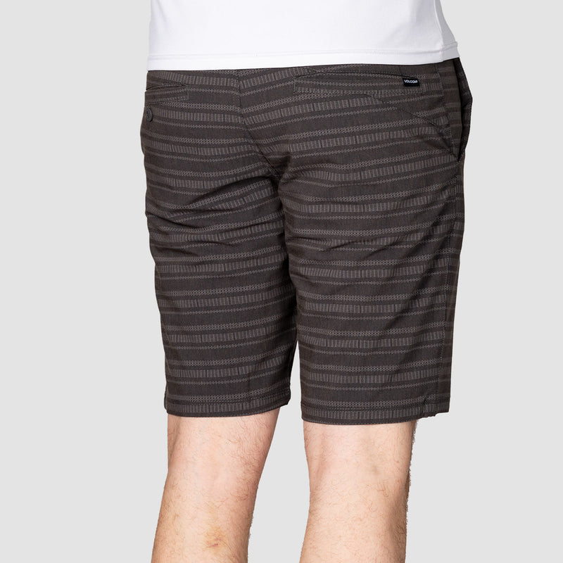 "Volcom Frickin Surf N Turf Mix 20"" Hybrid Shorts Black"
