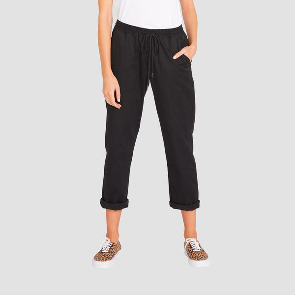Volcom Frochickie Travel Pants Black - Womens