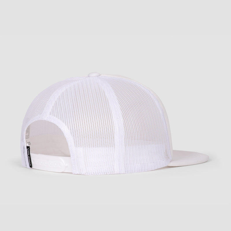 Volcom Full Frontal Cheese Cap White Flash