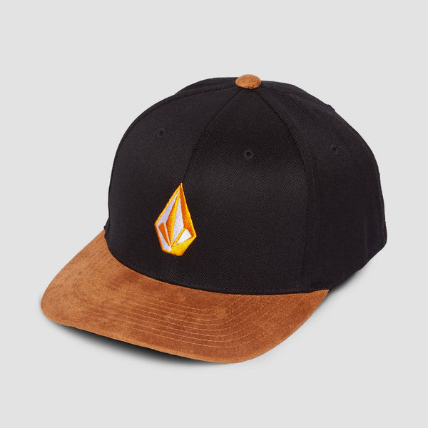 Volcom Full Stone Heather Xfit Cap Inca Gold