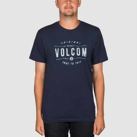 Volcom Garage Club Tee Indigo