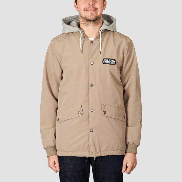 Volcom Highstone Jacket Khaki - Clothing