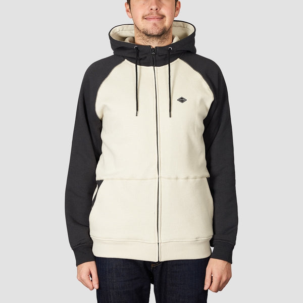 Volcom Homak Lined Zip Hood Black - Clothing