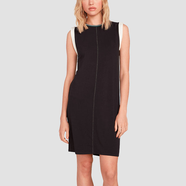 Volcom Ivol 2 Dress Black - Womens
