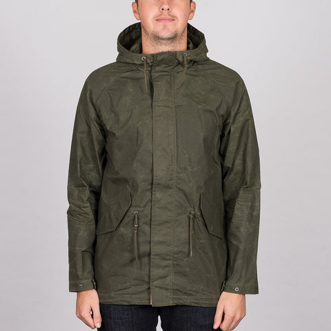 Volcom Lane Parka Jacket Military