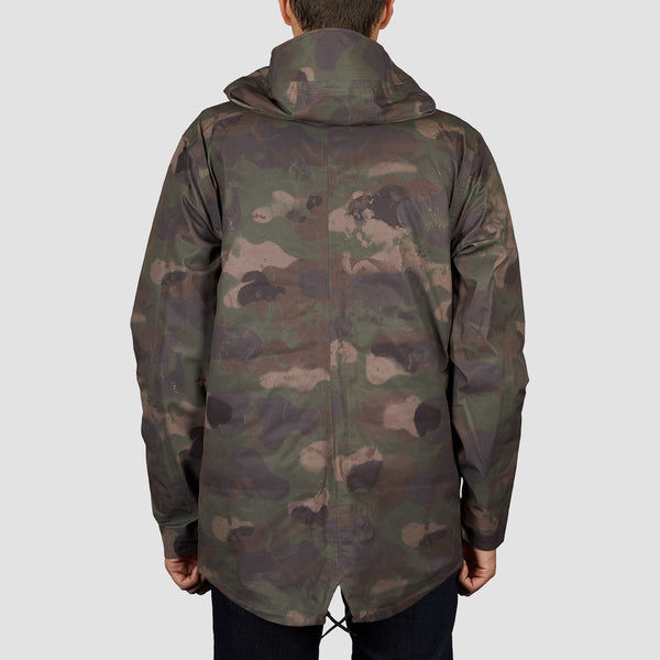 Volcom Lane TDS Parka Snow Jacket Military - Snowboard