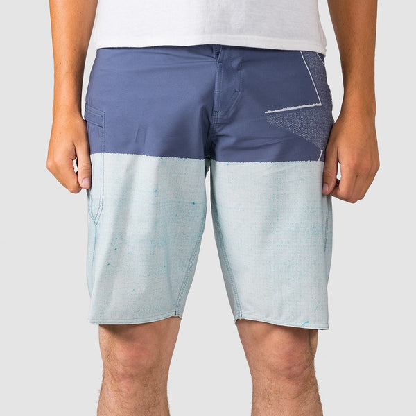 Volcom Lido Block Mod 21 Boardshorts Deep Blue - Clothing