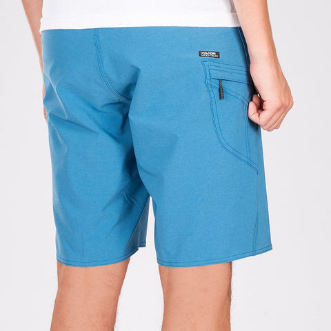 Volcom Lido Solid Mod 20 Boardshorts Deep Water - Clothing