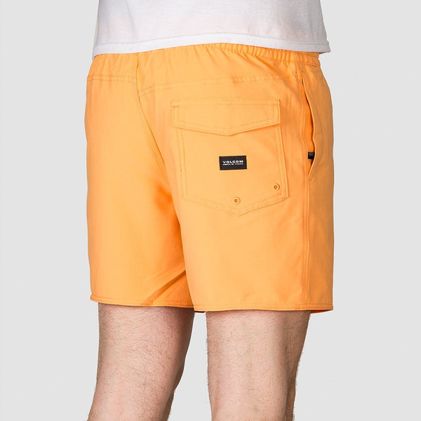 Volcom Lido Trunks 16 Boardshorts Light Peach - Clothing