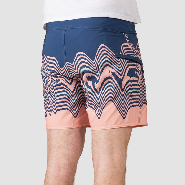 Volcom Lido Vibes Mod 16 Boardshorts Smokey Blue - Clothing