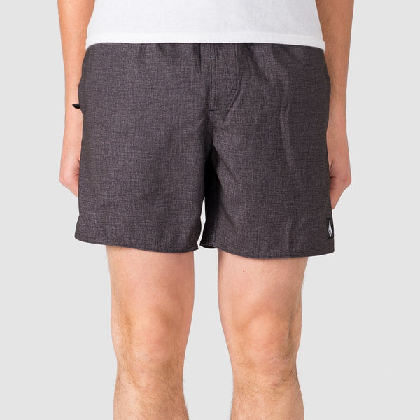 Volcom Lido Volley 16 Boardshorts Charcoal Heather - Clothing