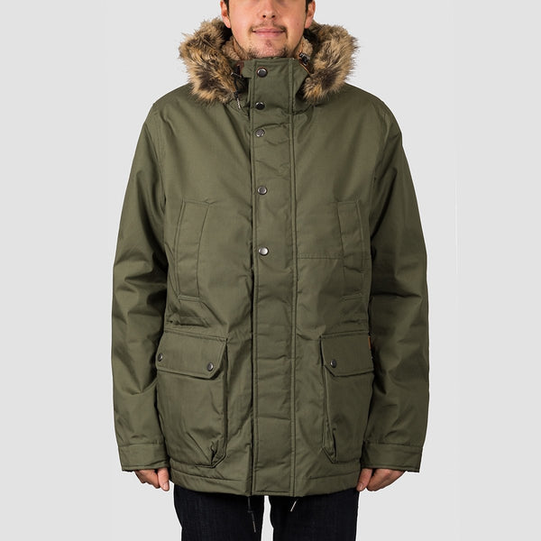 Volcom Lidward 5K Jacket Army Green Combo - Clothing
