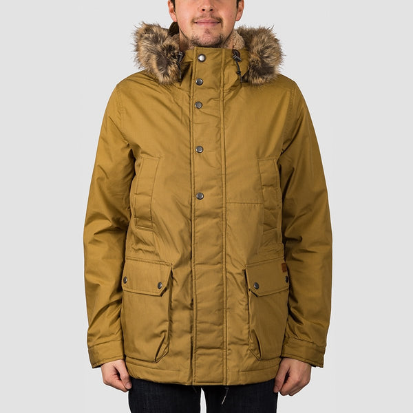 Volcom Lidward 5K Jacket Dark Khaki - Clothing