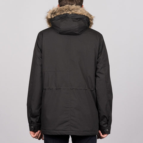 Volcom Lidward Parka Jacket Black - Clothing