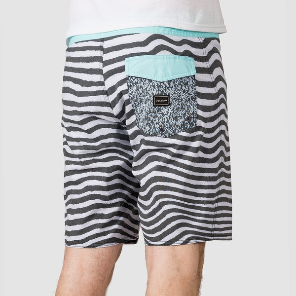 Volcom Mag Vibes Stoney 19 Boardshorts Pale Aqua - Clothing
