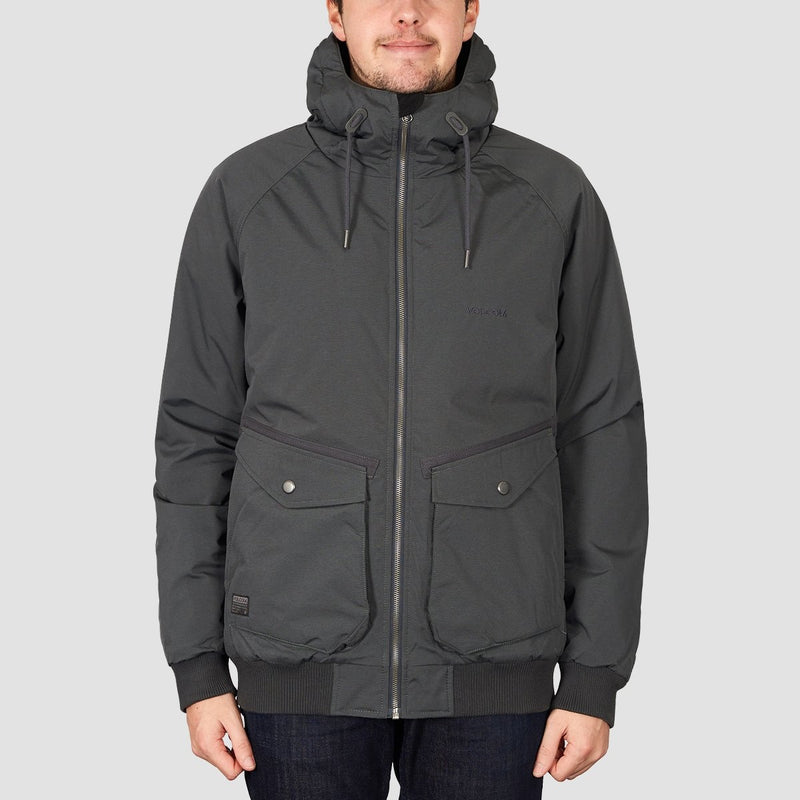 Volcom Master Coaster Jacket Black - Clothing