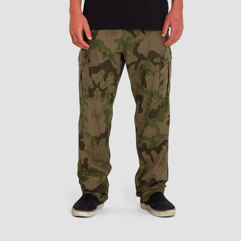 Volcom Miter II Cargo Pants Rifle Green