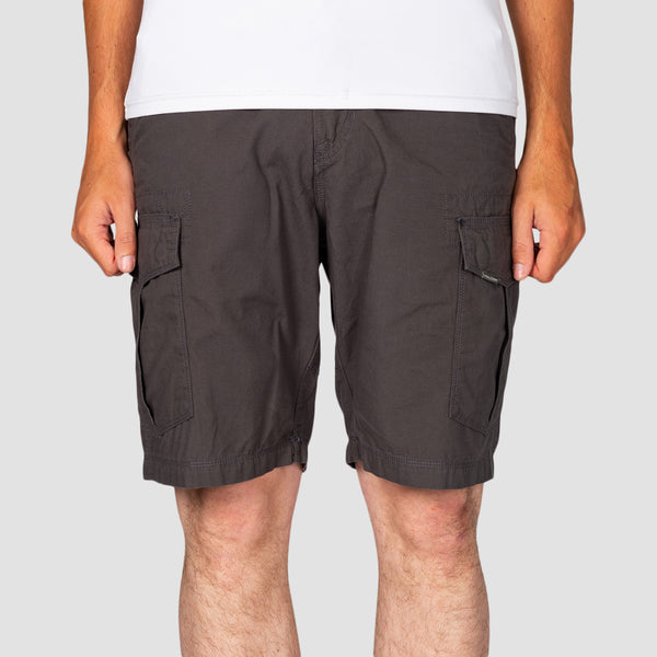 Volcom Miter II Cargo Shorts Dark Grey
