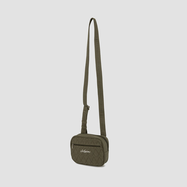 Volcom Multistone Crossbag Army Green Combo - Womens