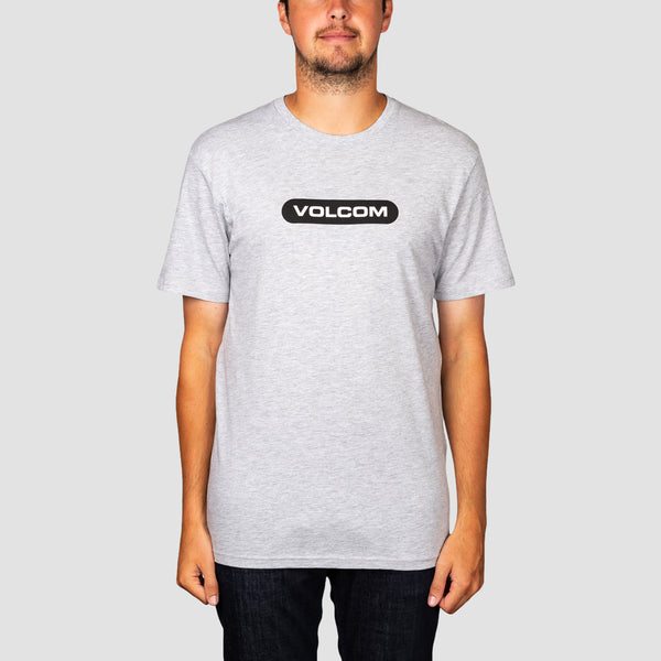 Volcom New Euro Tee Heather Grey