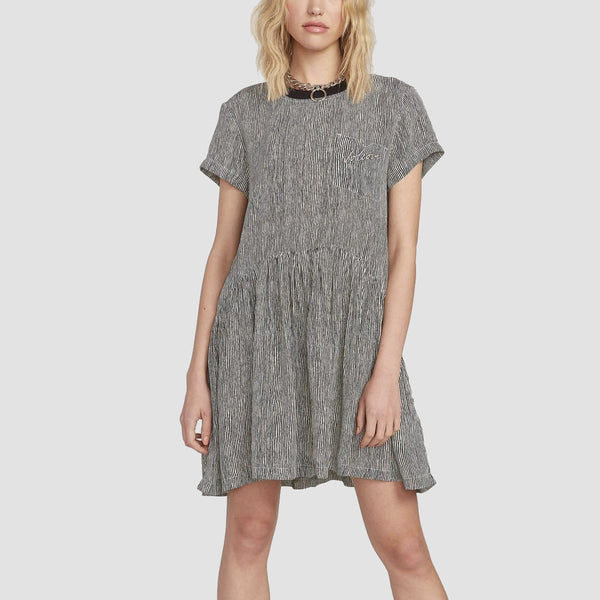 Volcom Newdles Dress Stripe - Womens