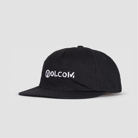 Volcom Old Punker Cap Black