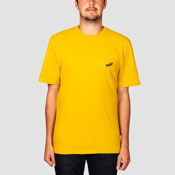 Volcom Pistol Blanks Boxy Fit Tee Gold