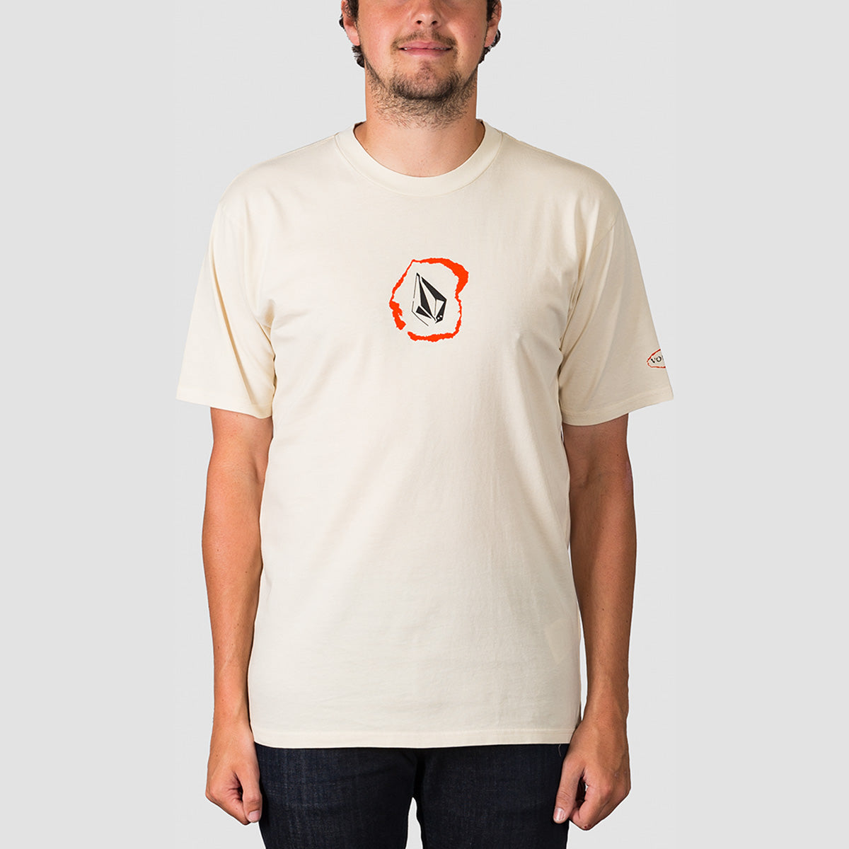 Volcom Posted Tee White Flash