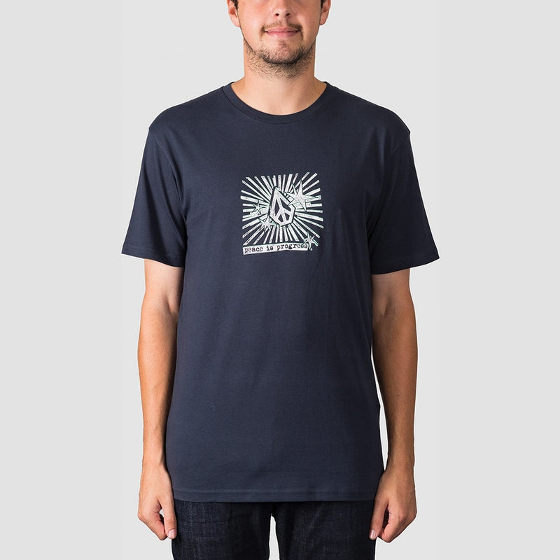 Volcom Prog Tee Navy - Clothing