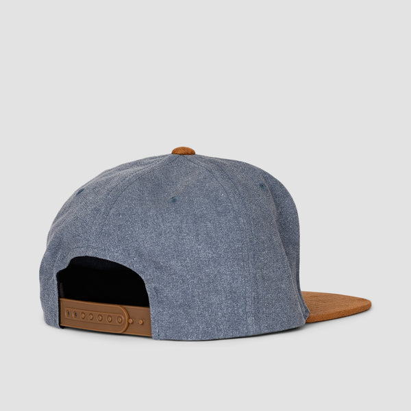 Volcom Quarter Fabric Cap Stormy Blue