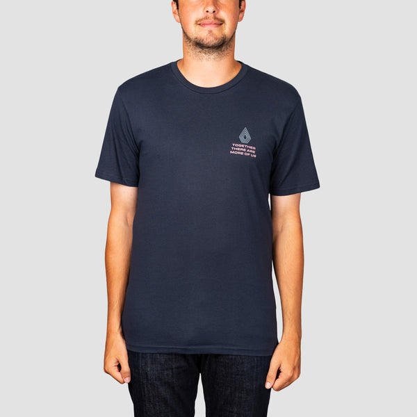 Volcom Radiation Tee Navy
