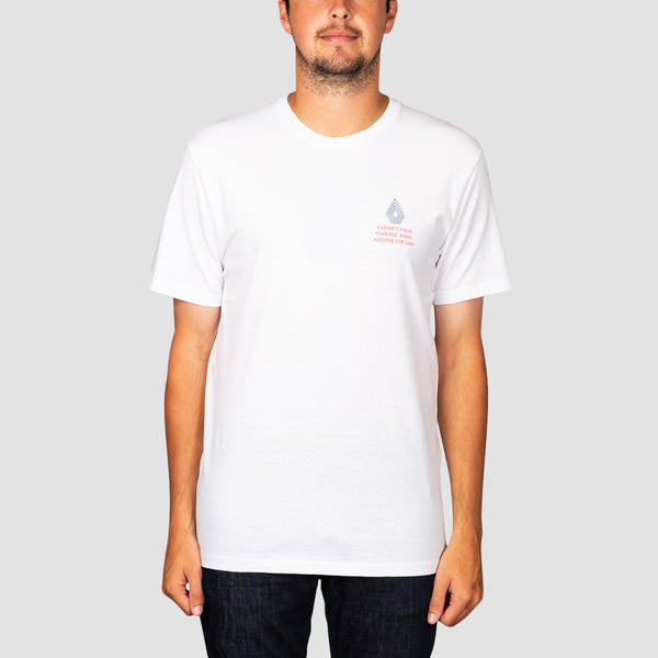 Volcom Radiation Tee White
