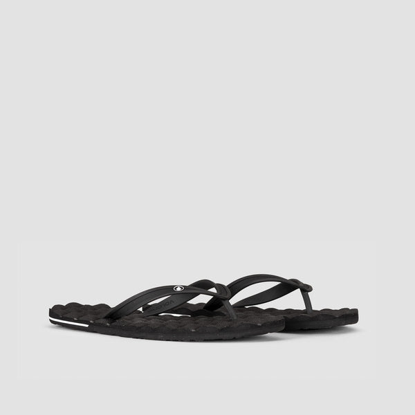 Volcom Recliner Rubber 2 Sandals Black - Footwear
