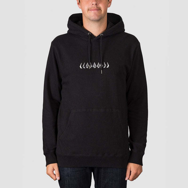 Volcom Reload Pullover Hood Black - Clothing