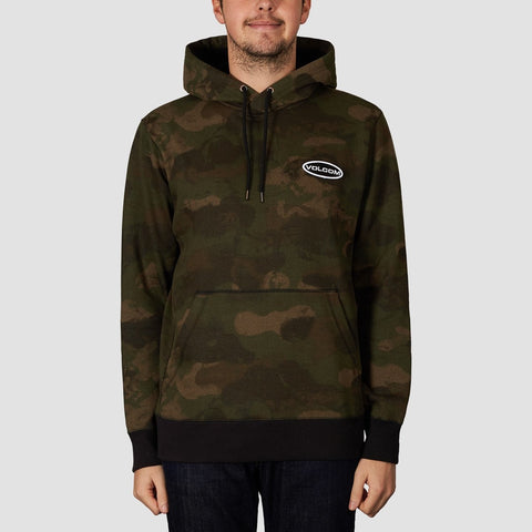 Volcom Shop Pullover Hood Camouflage