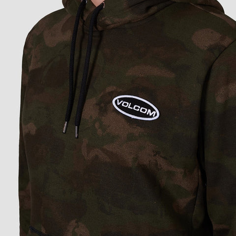 Volcom Shop Pullover Hood Camouflage - Clothing