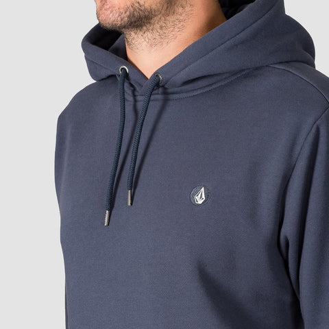 Volcom Single Stone Division Pullover Midnight Blue - Clothing