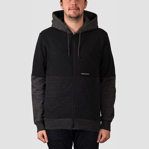 Volcom Single Stone Division Zip Hood Black