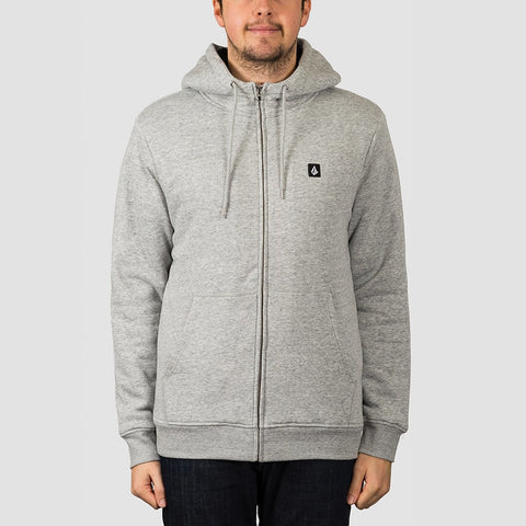 Volcom Single Stone Lined Zip Hood Storm