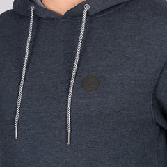 Volcom Single Stone Pullover Hood Navy - Clothing