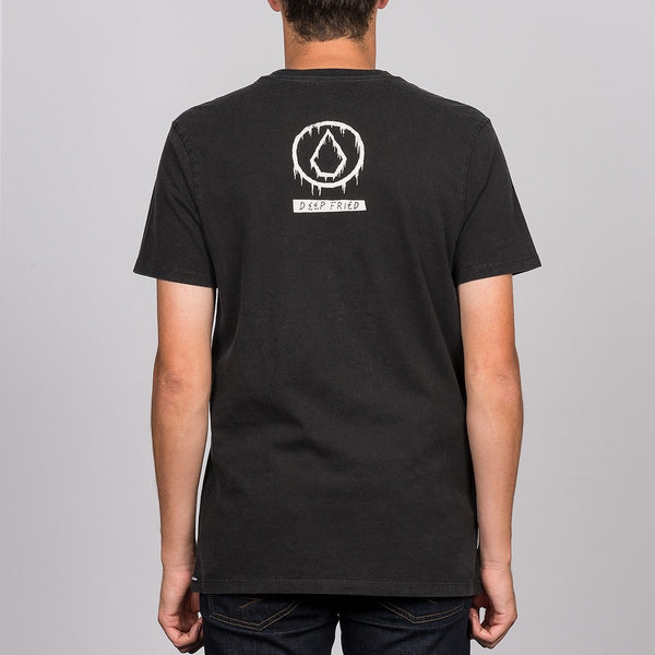 Volcom Sludge Tee Black - Clothing