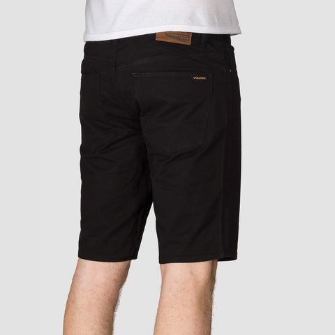 Volcom Solver Lite Twill Shorts Black - Clothing