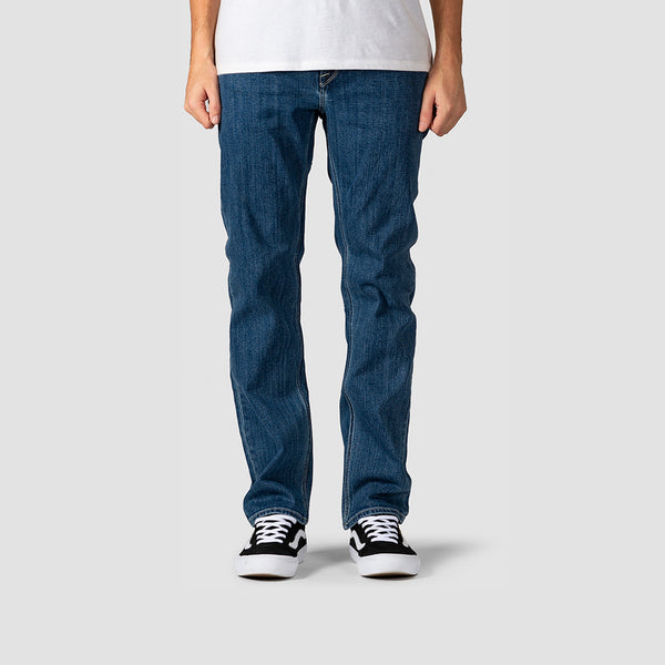 Volcom Solver Modern Straight Fit Jeans Easy Enzyme Medium