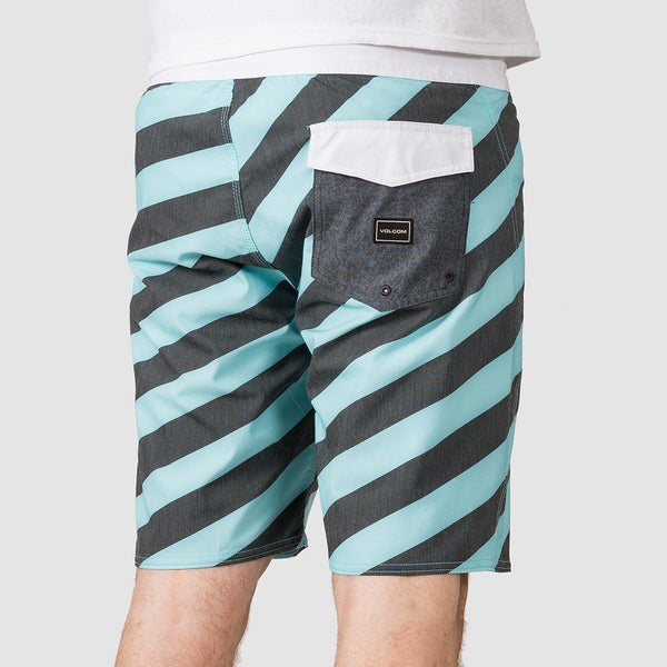Volcom Solver Stoney 19 Boardshorts Pale Aqua - Clothing