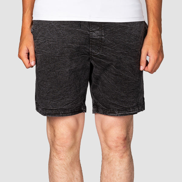 "Volcom Steppen Ew 17"" Shorts Black"