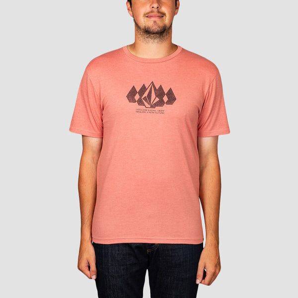 Volcom Stone Army Heather Tee Sandstone