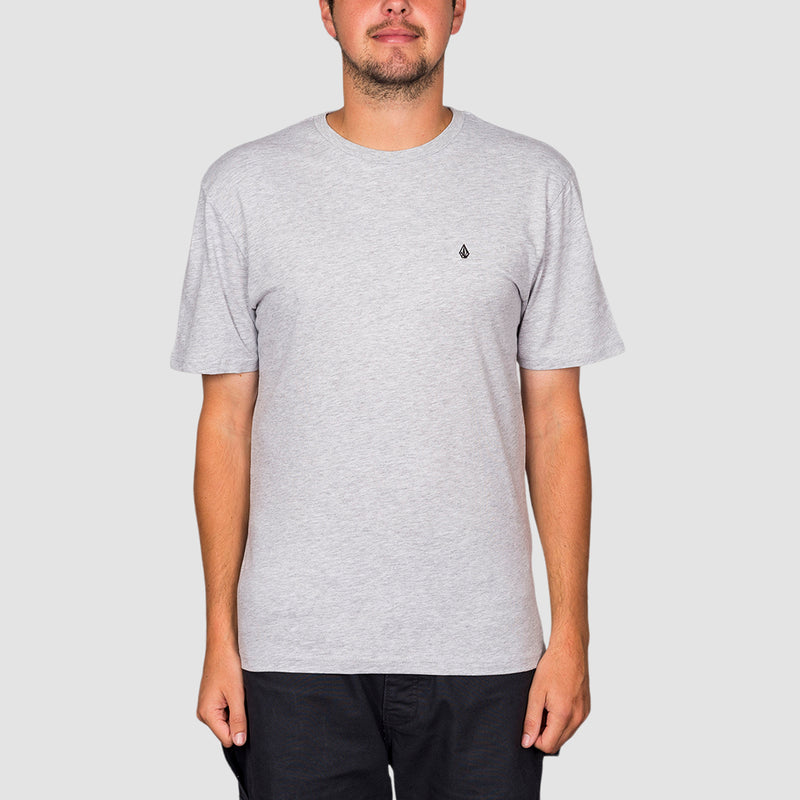 Volcom Stone Blanks Tee Heather Grey