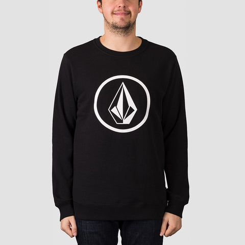 Volcom Stone Crew Sweat Black